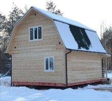 Каркасный дом 6 на 7 в Пупышево