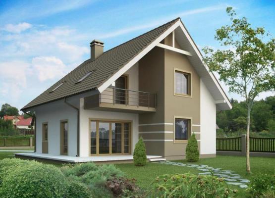 Дом из бруса Проект Б-40