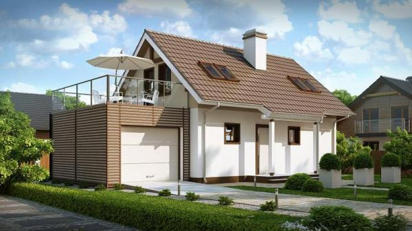 Дом из бруса Проект Б-41
