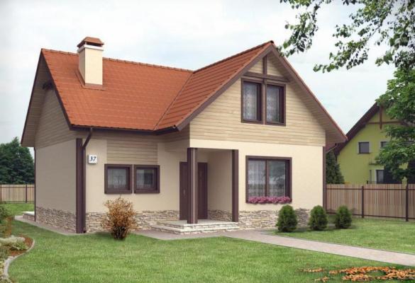 Дом из бруса 11,5×9,5 Проект Б-62