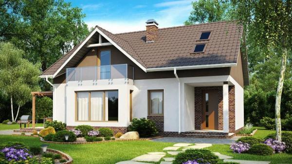 Дом из бруса 11х9,5 Проект Б-68