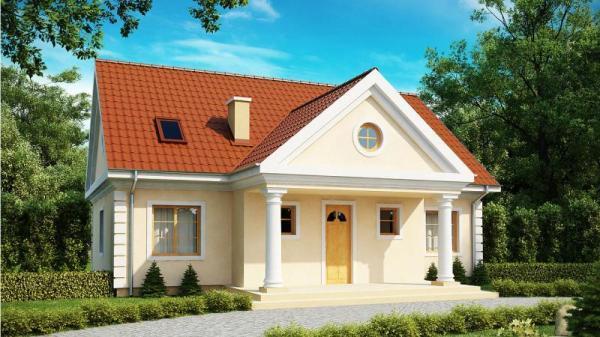 Дом из бруса 10,6х12,5 Проект Б-81