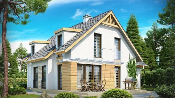 Дом из бруса 11х13,1 Проект Б-86
