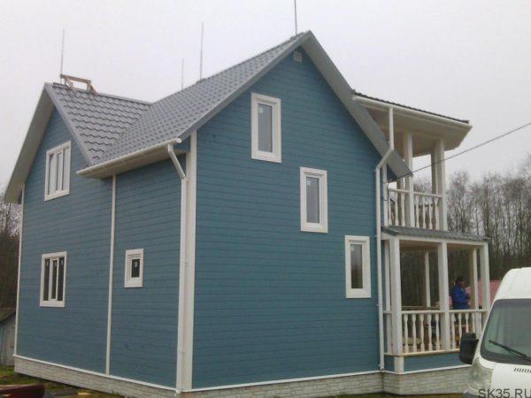 Дом из бруса 9х9 Проект Б-101