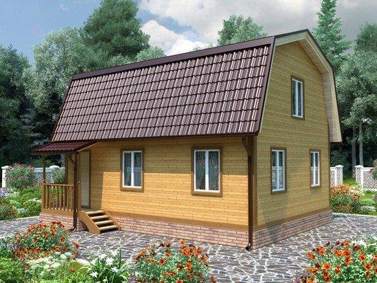 Каркасный дом 7×9 Проект KД-90