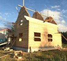 Дом из сухого бруса в Путилово