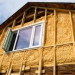 Внешнее утепление деревянного дома